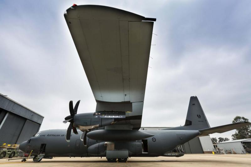 RAAF C-130J Litening Pod [Commonwealth of Australia, Department of Defence/CPL David Said]